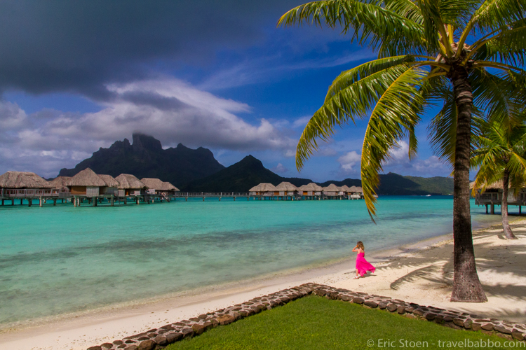 Best age to travel - Bora Bora