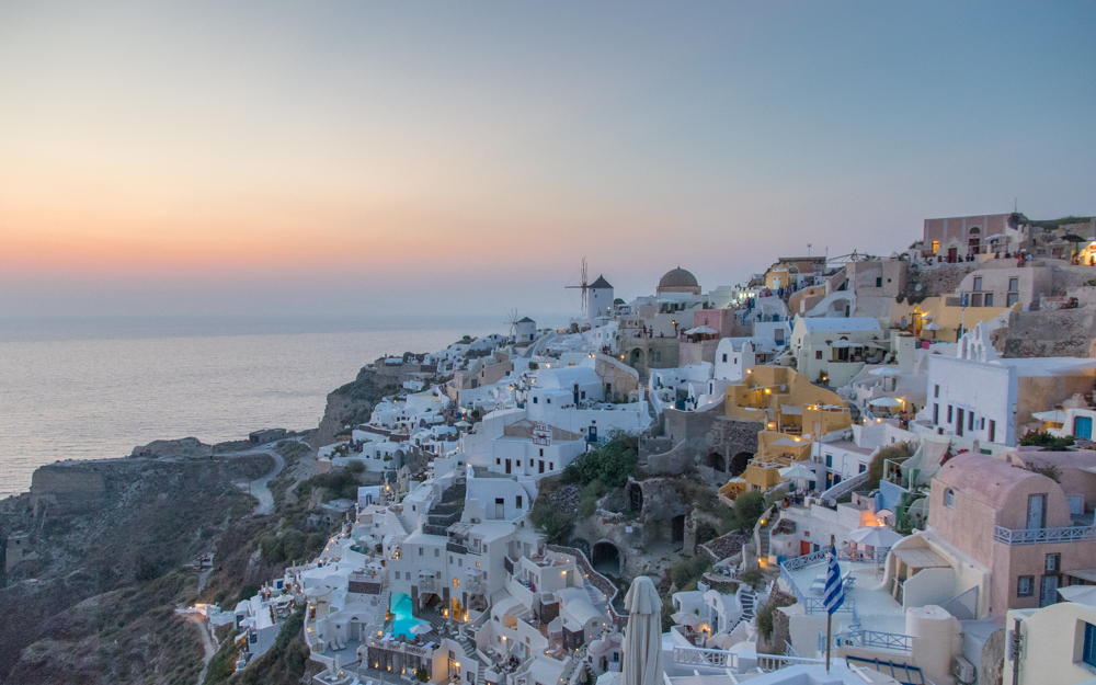 A Day Trip to Santorini from Naxos