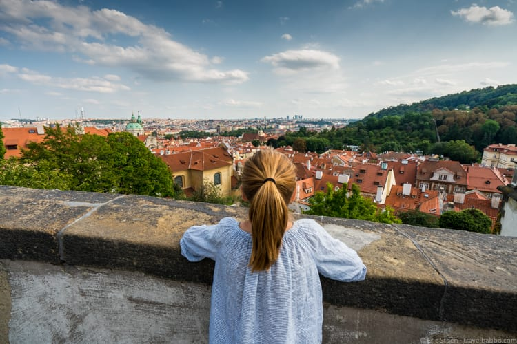 Affordable Family Travel - Overlooking Prague