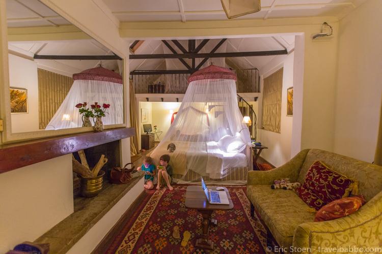 Giraffe Manor - The Finch Hatton Suite