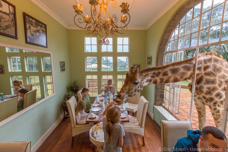 Giraffe Manor Hotel - So much fun!