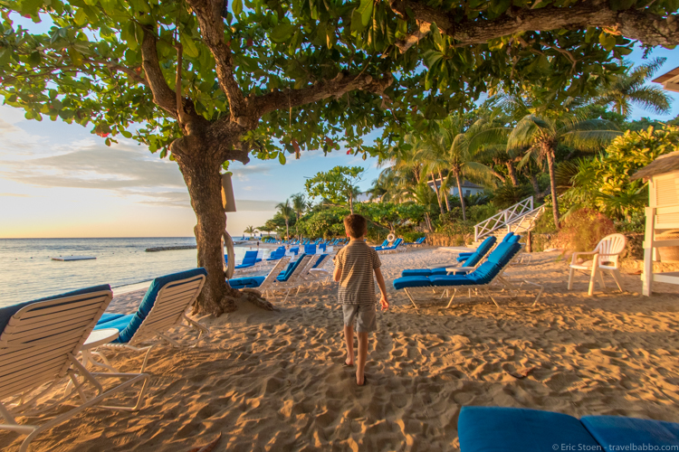 Tips for peak season travel: Jamaican resorts are nicely uncrowded off-season