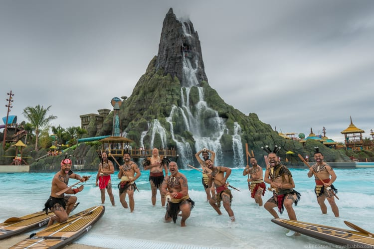 Volcano Bay: At the grand opening of Volcano Bay