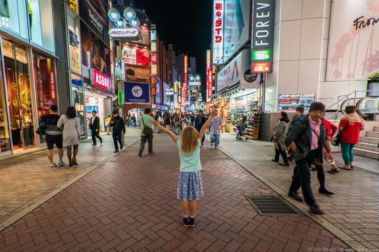 Tokyo with Kids - Shibuya