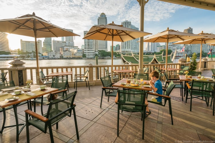 Best big city hotels - Peninsula Bangkok
