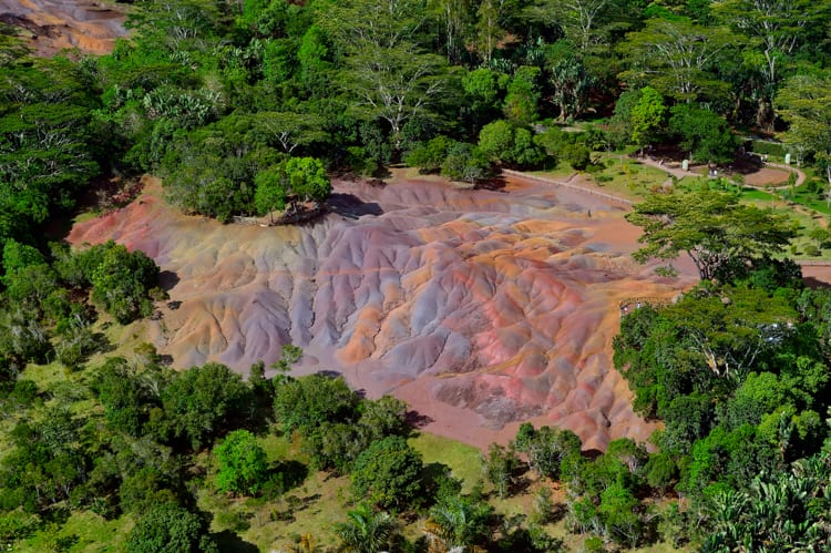 Mauritius - The 7-colored earth of Chamarel Photo Credit: Ly Hoang Long