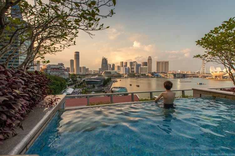 Jet Lag Tips - We love breaking up trips with layovers in Singapore